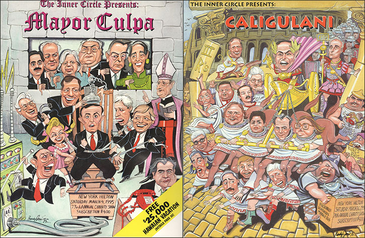 Mayor Culpa and Caligulani with Rudy Giuliani