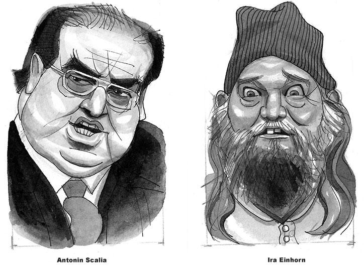 Antonin Scalia and Ira Einhorn