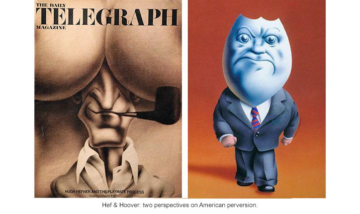 Hugh Hefner and J. Edgar Hoover